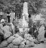 Guerre d'Espagne (1936-1939). Arrivée de réfugiés civils en France, février 1939. © Gaston Paris / Roger-Viollet