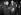 Mgr Giuseppe Roncalli (futur pape Jean XXIII, 1881-1963) en conversation avec Robert Schuman (1886-1963), homme politique français, 5 février 1953. © Roger-Viollet