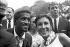 Marche pour les droits civiques. Sammy Davis Jr. (1925-1990), acteur américain. Washington D.C. (Etats-Unis), 28 août 1963. © 1963 Ivan Massar/Take Stock