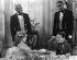 """La Fille rebelle"" (The Littlest Rebel), film de David Butler. Shirley Temple, Bill Robinson et Willie Best. Etats-Unis, 1935. © TopFoto/Roger-Viollet"