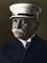 Le comte Ferdinand von Zeppelin (1838-1917), militaire et ingénieur allemand, constructeur de dirigeables, 1913. © Ullstein Bild / Roger-Viollet