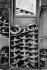 La maison Locke & Co, chapelier. Chapeaux melons prêts à être livrés. Londres (Angleterre), 6 Saint James Street, 1959. © Jean Mounicq/Roger-Viollet