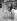 Ménagère décrochant son linge, congelé par le froid. Bristol (Angleterre), 2 février 1954.    © TopFoto/Roger-Viollet
