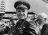 Iouri Gagarine (1934-1968), cosmonaute soviétique, à son arrivée à Kastrup, aéroport de Copenhague (Danemark).  © Peer Pedersen/Polfoto/Roger-Viollet