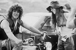 Michael Lang (né en 1944), producteur américain, organisateur de concerts et manager, co-créateur du festival de Woodstock (New York), 1969.  © Henry Diltz/The Image Works/Roger-Viollet