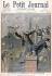 """Oswaldo Tofani (1849-1915). Le dernier ravitaillement de Fort Chabrol avant la réddition. Poursuite sur les toits. Dessin publié dans """"Le Petit Journal"""", 1er octobre 1899. © Roger-Viollet"""
