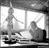 Karlheinz Stockhausen (1928-2007), compositeur et chef d'orchestre allemand. © Philippe Gontier/The Image Works/Roger-Viollet