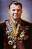 Youri Gagarine (1934-1968), cosmonaute soviétique.      © Roger-Viollet