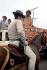 Participants au festival de Woodstock. Bethel (Etats-Unis), août 1969. Photo : Elliott Landy. © The Image Works / Roger-Viollet