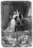"""Illustration pour """"René"""" de François-René de Chateaubriand. Amélie et René. XIXème siècle. © Roger-Viollet"""
