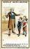 Maître d'école et ses élèves. Vignette chocolat Guérin-Boutron, fin XIXème siècle. Lithographie de J. Minot.  © Roger-Viollet