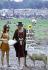 Festival de Woodstock. Couple avec un mouton. Bethel (Etats-Unis), 16 août 1969.  © Tom Miner/The Image Works/Roger-Viollet