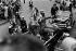 Richard Nixon (1913-1994) et Dwight D. Eisenhower (1890-1969), hommes politiques américains, lors de la campagne de Nixon pour l'élection présidentielle contre John F. Kennedy. Etats-Unis, 1960.  © Lars Hansen/Polfoto/Roger-Viollet
