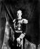 Prince Philip (né en 1921), duc d'Edimbourg, en uniforme d'amiral de la flotte dans la salle du trône du palais de Buckingham, queleques jours après le couronnement de la reine Elisabeth II. Londres (Angleterre), 5 juin 1953. © PA Archive / Roger-Viollet
