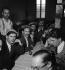 Les Nord-Africains en France. Reportage. 1936. Photographie de Marcel Cerf (1911-2010). Bibliothèque historique de la Ville de Paris.  © Marcel Cerf/BHVP/Roger-Viollet