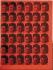 "Exposition d'Andy Warhol (1928-1987). ""Elvis rouge"", 1962. Fondation Stephanie et Peter Brant. © TopFoto / Roger-Viollet"