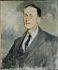 Jacques-Emile Blanche (1861-1942). Etude pour le portrait de Jean Giraudoux, 1924. Rouen, musée des Beaux-Arts.    © Roger-Viollet