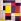 """Piet Mondrian (1872-1944), peintre hollandais. """"Composition en couleurs : gris, rouge, jaune, noir et blanc"""". 1928. Collection privée.  © TopFoto / Roger-Viollet"""