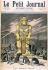"""La puissance de l'argent : le veau d'or et ses adorateurs. """"Le Petit Journal"""", 31 décembre 1892. © Roger-Viollet"""