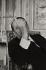 André Malraux (1901-1976), écrivain et homme politique français, dans son bureau du Ministère de la culture. Paris, 1967.  © Jean Mounicq/Roger-Viollet