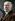 Raymond Poincaré (1860-1934), homme d'Etat français. Photo colorisée. © Roger-Viollet