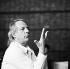 Karlheinz Stockhausen (1928-2007), compositeur et chef d'orchestre allemand. Allemagne, 12 juillet 1987.  © Ullstein Bild/Roger-Viollet