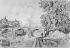 """Paul Signac (1863-1935). """"Le pont Royal"""". Paris (Ier et IIe arr.).    © Léopold Mercier / Roger-Viollet"""