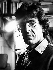 Luc Ferry (né en 1951), philosophe et homme politique français, chez lui. Paris, 1985. © Bruno de Monès / Roger-Viollet
