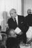Maurice Papon (1910-2007), homme politique et haut-fonctionnaire français. 21 octobre 1975. © Jean-Pierre Couderc / Roger-Viollet
