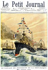"""Voyage du président de la République Emile Loubet en Afrique du Nord sur le croiseur """"Jeanne-d'Arc"""" (1903). """"Le Petit Journal"""", avril 1903. © Roger-Viollet"""