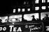 Deuxième étage d'un autobus de nuit. Londres (Angleterre), 1958. © Jean Mounicq/Roger-Viollet