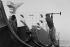 Chantier naval de La Ciotat (Bouches-du-Rhône), 1958. Photographie de Jean Marquis (né en 1926). © Jean Marquis/Roger-Viollet