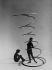 """""""Jolies martiennes"""". Composition. 1950. © Pierre Jahan/Roger-Viollet"""