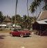Automobile Mercedes 180 cabriolet. Années 1960.  © Ray Halin/Roger-Viollet