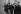 Guerre 1939-1945. Missak Manouchian et sept résistants de son groupe, arrêtés en 1944, peu de temps avant leur exécution (février 1944). 3ème à partir de la gauche : Manouchian, Boczov, Grywacz, X et Elek. © Collection Roger-Viollet / Roger-Viollet