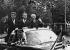 John F. Kennedy, Willy Brandt et Konrad Adenauer. Berlin (Allemagne), 26 juin 1963. © V. Pawlowski / Ullstein Bild / Roger-Viollet