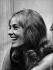 Jeanne Moreau (1928-2017), actrice et chanteuse française. © Jack Nisberg/Roger-Viollet