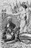 Exposition internationale de Lyon, 1914. Carte-souvenir avec le portrait de Raymond Poincaré (1860-1934), président de la République française, par Jean-Robert. © CAP/Roger-Viollet