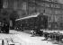Arrivée du wagon (voiture 2419D de la Compagnie des Wagons-lits) où fut signé l'armistice, exposé dans la cour des Invalides de 1921 à 1927. Paris (VIIème arr.), 28 avril 1921. © Excelsior - L'Equipe / Roger-Viollet