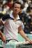 Internationaux de France de Roland-Garros. John Mac Enroe (né en 1959). Paris, 1984.  © Jean-Pierre Couderc/Roger-Viollet