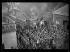 """Guerre d'Espagne (1936-1939). """"La Retirada"""". Arrivée de miliciens républicains espagnols fouillés par les soldats français pour vérifier qu'ils n'ont pas gardé d'armes. Le Perthus (Pyrénées-Orientales, 5 février 1939. Photographie Excelsior. © Excelsior - L'Equipe / Roger-Viollet"""