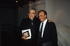 Monseigneur Jean-Marie Lustiger (1926-2007), archevêque de Paris et cardinal, et Elie Wiesel (1928-2016), écrivain roumain d'origine roumaine, lors d'une émission de Frédéric Mitterrand, 4 septembre 1989. © Jean-Régis Roustan/Roger-Viollet