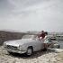 Automobile Mercedes 190 cabriolet. Cannes (Alpes-Maritimes), années 1960.  © Ray Halin/Roger-Viollet