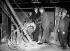 Cérémonie pour le lancement des travaux de fondation de la ligne de métro Victoria. Londres (Angleterre), 13 novembre 1961. Photographie de Barratts. © Barratts/PA Archive/Roger-Viollet