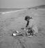 Scène de plage. Deauville (Calvados), 1937.      © Boris Lipnitzki/Roger-Viollet