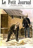 """Fortuné Louis Méaulle (1844-1901). Affaire Dreyfus. Alfred Dreyfus (1859-1935), capitaine français, à l'île du Diable (Guyane française). Gravure parue dans """"Le Petit Journal"""", 27 septembre 1896. © Roger-Viollet"""