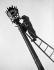 Remise en état des lampadaires de Paris, mai 1945. © LAPI/Roger-Viollet