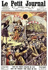"""Foule observant l'éclipse totale du soleil. """"Le Petit Journal"""", 21 avril 1912. © Roger-Viollet"""