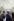 Musée du Louvre. Travaux à l'intérieur de la pyramide juste avant l'inauguration. Architecte : Ieoh Ming Pei. Paris (Ier arr.), 1988. © Jean-Pierre Couderc / Roger-Viollet