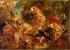 """Eugène Delacroix (1798-1863). """"La Chasse aux lions"""", 1854. Paris, musée Delacroix. © Roger-Viollet"""